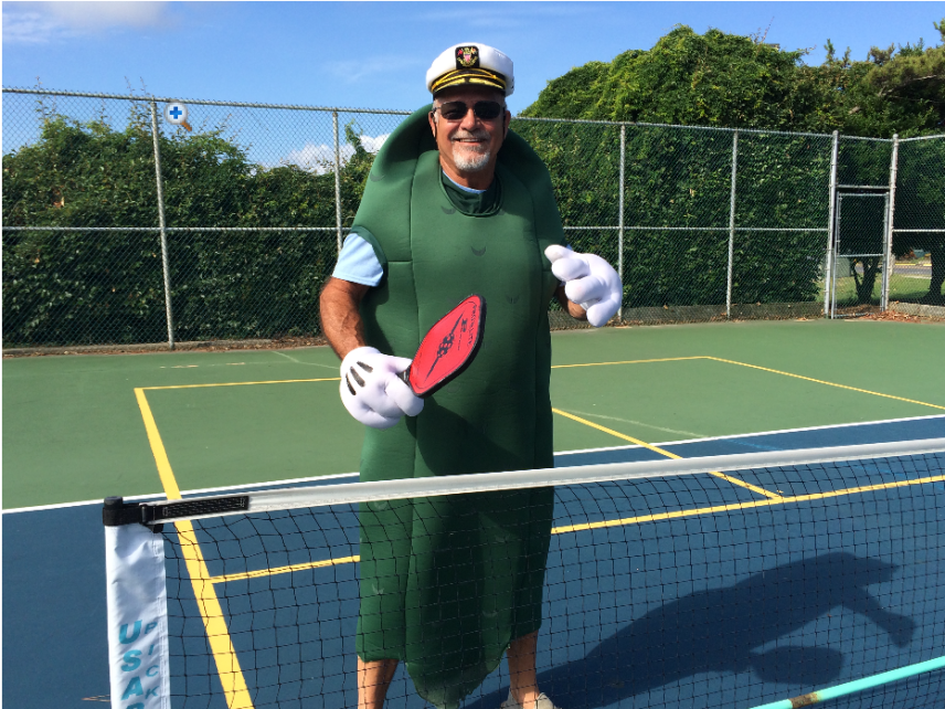 Captain Pickleball Woody West