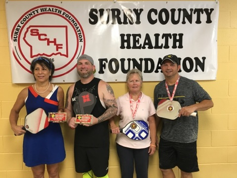 4.5 All Ages Mixed Doubles 2017 Mayberry Tournament