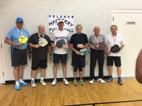 65+ 3.5 Mens Doubles 2017 Tournament