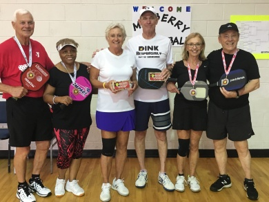 65+ 3.5 Mixed Doubles 2017 Tournament