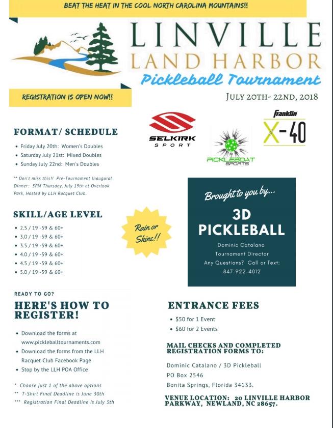 Linville Land Harbour 2018 July