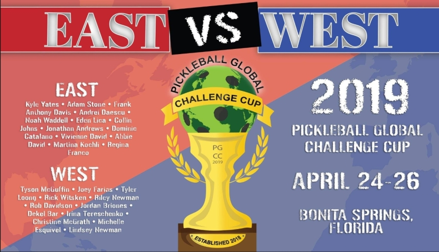 Pickleball Global East West